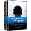 Kolekce Sci-fi (Transcendence, Elysium, Po zániku Země) (DVD)