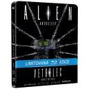 Vetřelci (Alien Anthology) STEELBOOK 4BD (Vetřelec, Vetřelci, Vetřelec 3, Vetřelec: Vzkříšení) (Bluray)