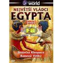 Největší vládci Egypta DVD2 - Skutečná Kleopatra, Ramesse Veliký (DVD)