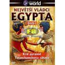 Největší vládci Egypta DVD1 - Král pyramid, Tutanchamonova záhada (DVD)