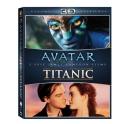 Avatar 3D (combo 2D + 3D) & Titanic 3D EXKLUZIVNĚ – 6-disková kolekce (Bluray)