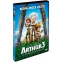 Arthur 3 a souboj dvou světů (DVD)