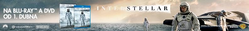 Interstellar na DVD a Bluray