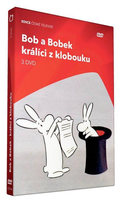 Bob a Bobek: Králící z klobouku 3DVD (DVD)