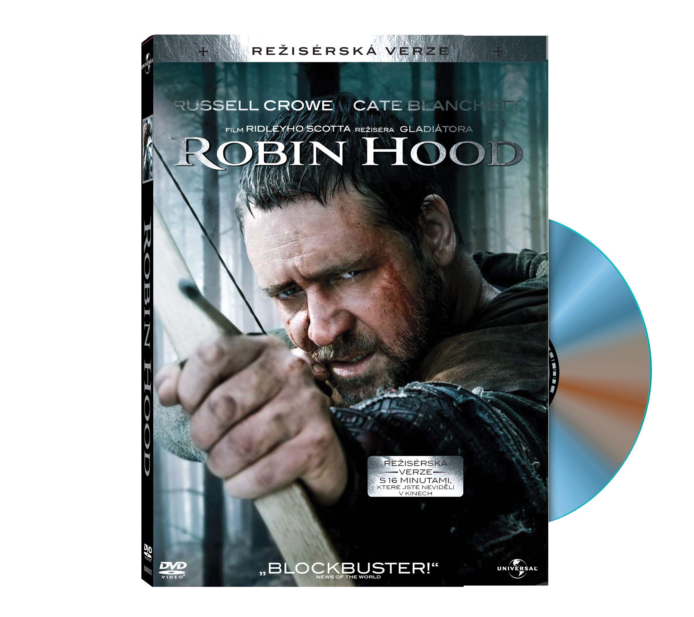 Robin Hood - režisérská i kinoverze (DVD)