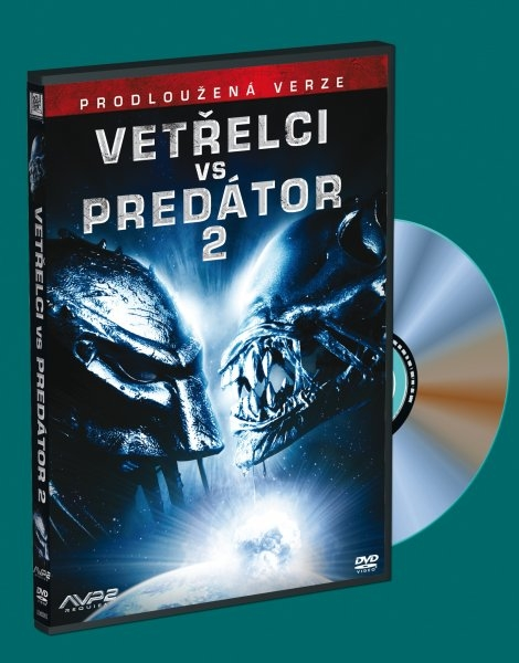 Vetřelci vs. Predátor 2 (Vetřelec vs. Predátor 2) PRODLOUŽENÁ VERZE (DVD)