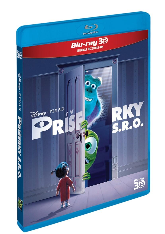 Příšerky s.r.o. 3D + 2D 2BD (Disney) (Bluray)
