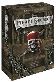 Piráti z Karibiku 1 - 4 SBĚRATELSKÁ EDICE (Disney) (DVD)