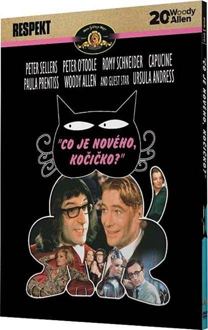 Co je nového, kočičko? - kolekce 20x Woody Allen (DVD)