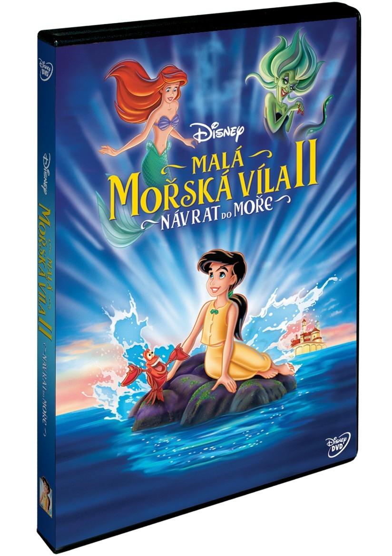 Malá mořská víla 2.: Návrat do moře (Disney) (DVD)
