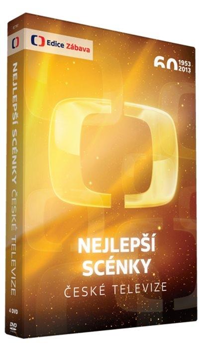 Nejlepší scénky České televize 4DVD (DVD)