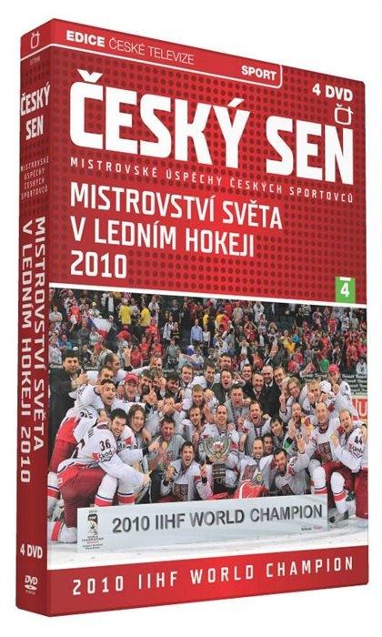 Český sen - Mistrovství světa v ledním hokeji 2010 (MS hokej 2010) 4DVD (DVD)