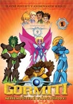 Gormiti 01. DVD - 1. série - edice FILMAG dětem (DVD)