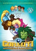 Gormiti 02. DVD - 1. série - edice FILMAG dětem (DVD)