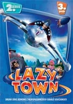 Lazy Town 2. série DVD3 z 5 - edice FILMAG dětem (DVD)