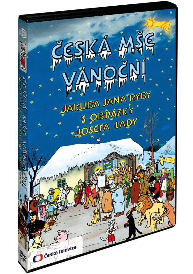 Česká mše vánoční Jakuba Jana Ryby s obrázky Josefa Lady (DVD)