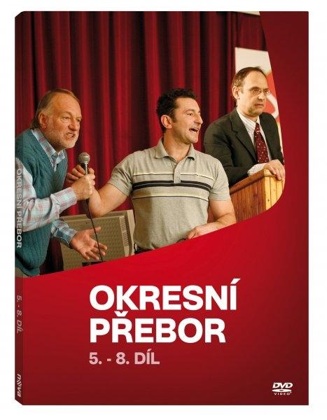 Okresní přebor (seriál) DISK 2, díly 05 - 08 (DVD)