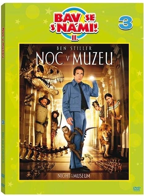 Noc v muzeu 1 - edice Bav se s námi! II. (DVD)