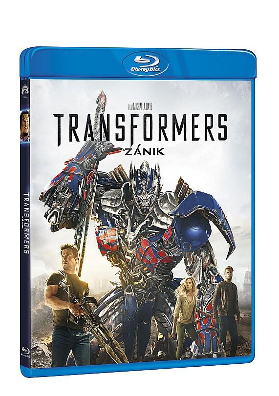 Transformers 4: Zánik 2BD (2D + bonus BD) (Bluray)