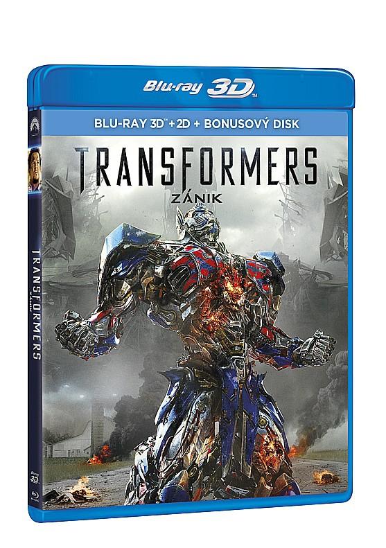 Transformers 4: Zánik 3BD (3D+2D+bonus BD) (Bluray)