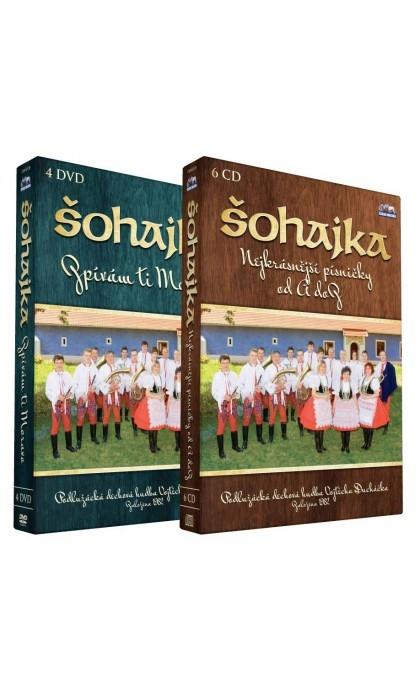 Šohajka - Zpívám ti Moravo 4DVD (DVD)