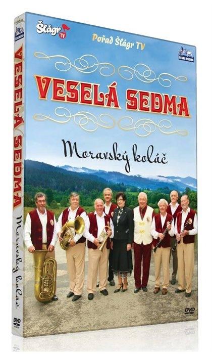 Kapela Veselá sedma - Moravský koláč (DVD)