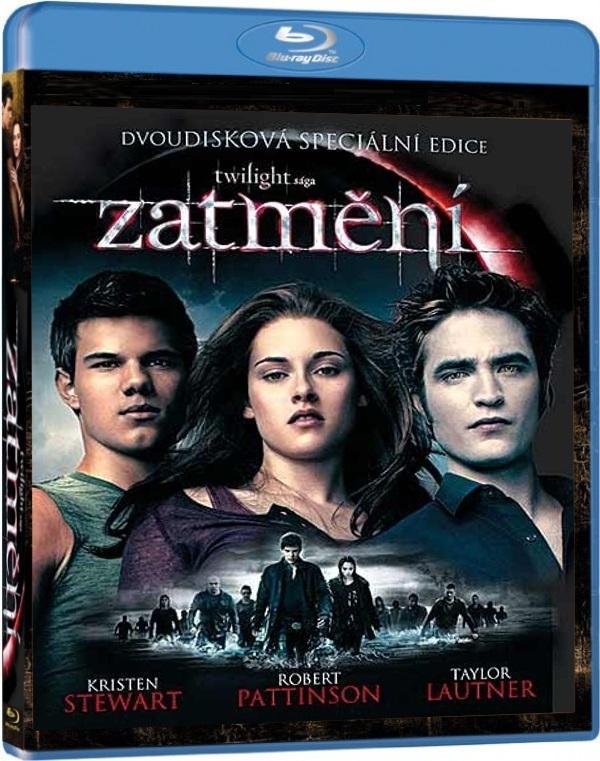 Twilight sága 3: Zatmění S. E. 2disk BD + DVD (3. díl) (Bluray)