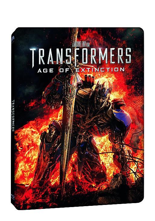 Transformers 4: Zánik 2BD (3D+bonus BD) STEELBOOK (Bluray)
