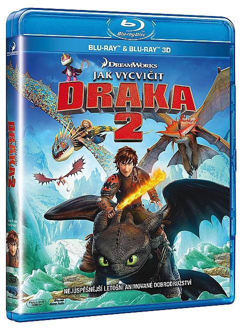 Jak vycvičit draka 2 3D + 2D 2BD (Bluray)