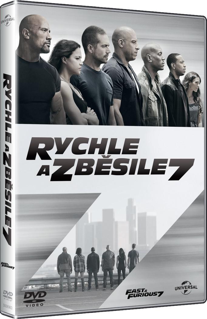 Rychle a zběsile 7 (DVD)