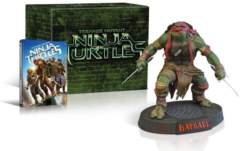 Želvy Ninja 1 3D + 2D 2BD SBĚRATELSKÉ BALENÍ (Raphael Box) STEELBOOK (2014) (Bluray)