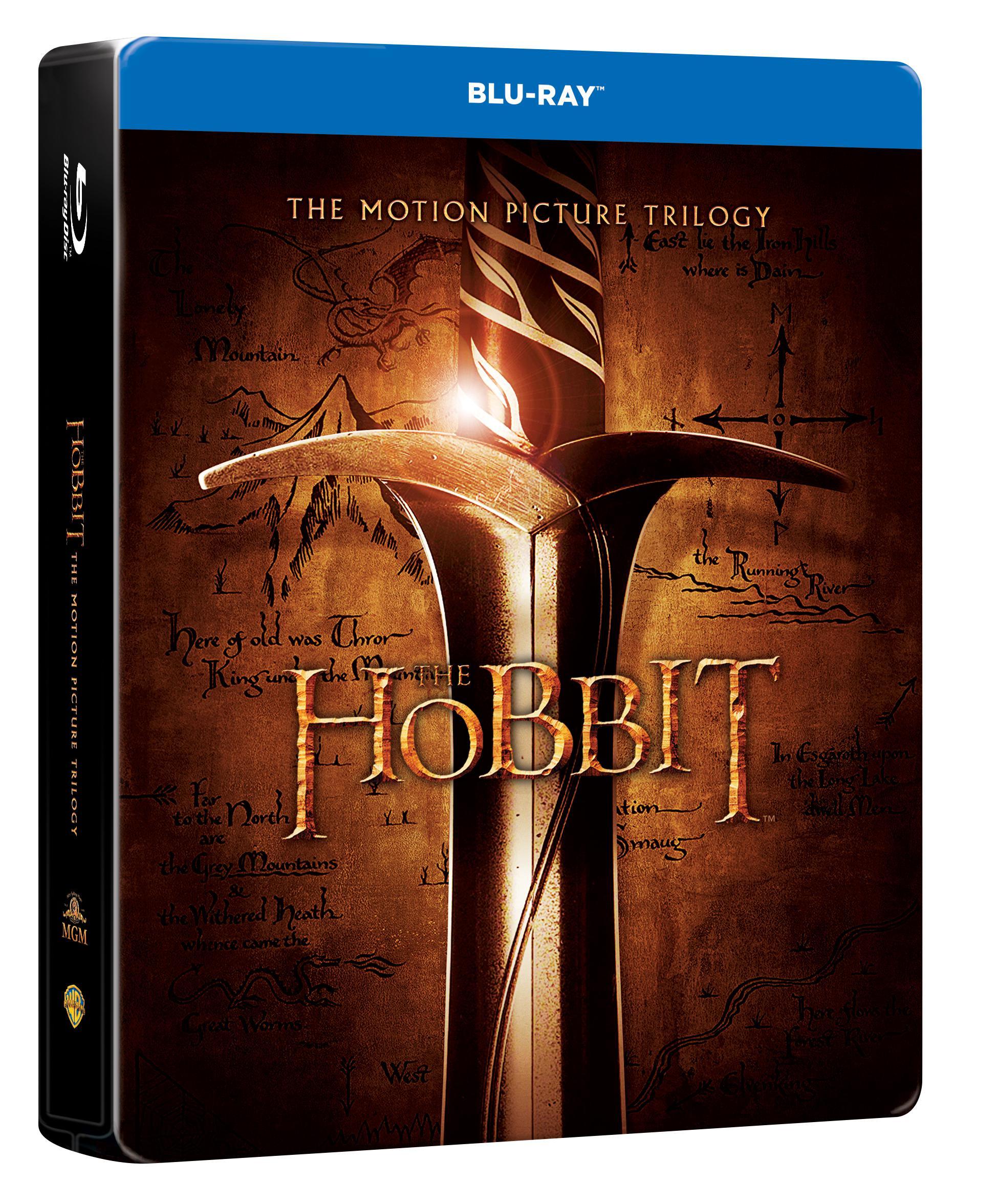 Hobit 1 - 3 KOMPLETNÍ KOLEKCE STEELBOOK 6BD limitovaná edice (Hobit 3) (Bluray)