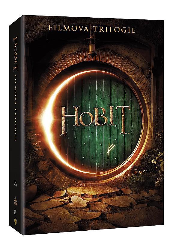 Hobit 1 - 3 KOMPLETNÍ KOLEKCE 6DVD (DVD)