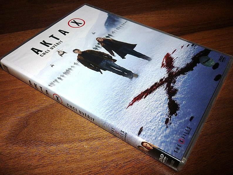 Akta X: Chci uvěřit (DVD) (Bazar)