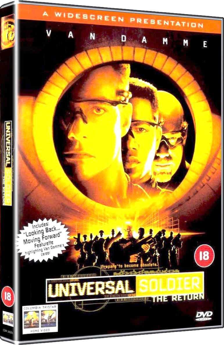 Univerzální voják 2: Zpět v akci (DVD)