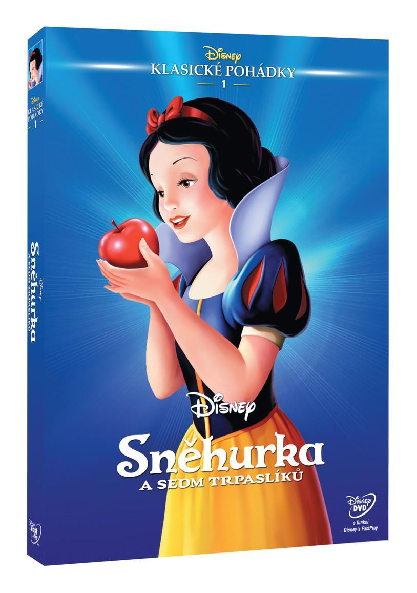 Sněhurka a sedm trpaslíků - Edice Disney klasické pohádky č. 1 (Disney) (DVD)