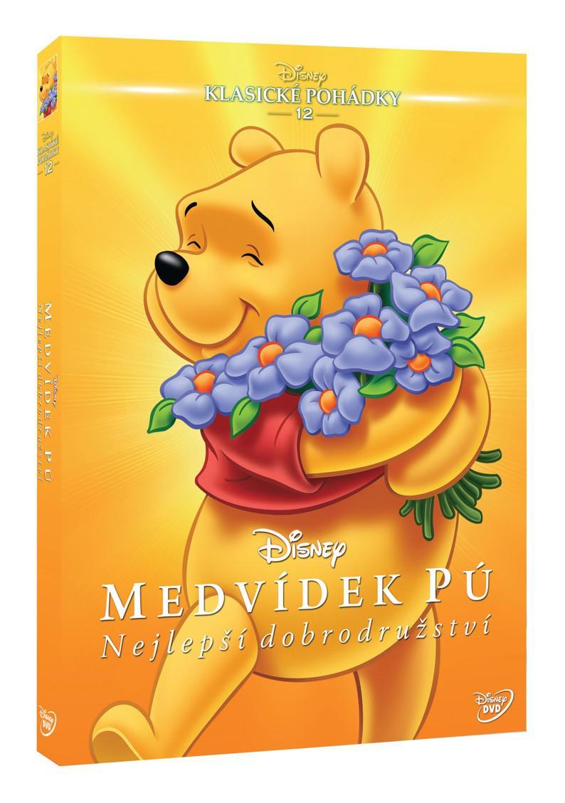 Medvídek Pú: Nejlepší dobrodružství - Edice Disney klasické pohádky č. 12 (DVD)