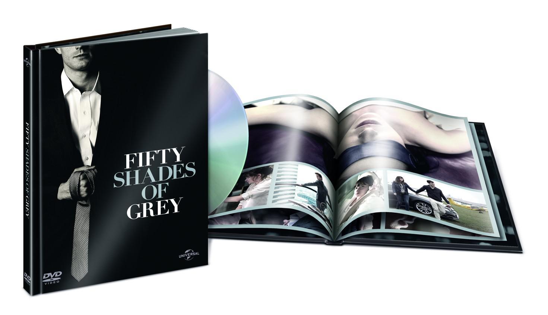 50 odstínů šedi PRODLOUŽENÁ VERZE DIGIBOOK (Padesát odstínů šedi) (DVD)