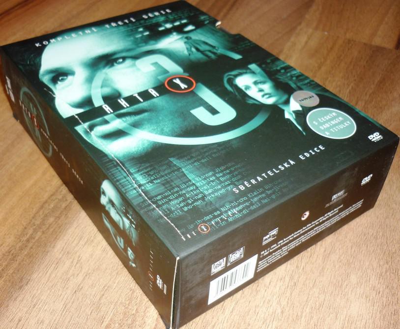Akta X - 3. sezóna 7DVD SBĚRATELSKÁ EDICE (DVD) (Bazar)