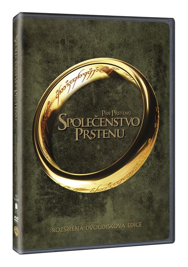 Pán prstenů: Společenstvo prstenu - rozšířená edice 2DVD (1. díl) (DVD)