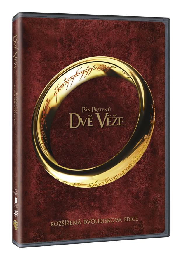 Pán prstenů: Dvě věže - rozšířená edice 2DVD (2. díl) (DVD)