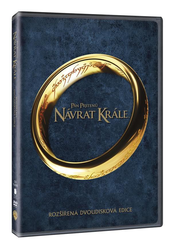 Pán prstenů: Návrat krále - rozšířená edice 2DVD (3. díl) (DVD)