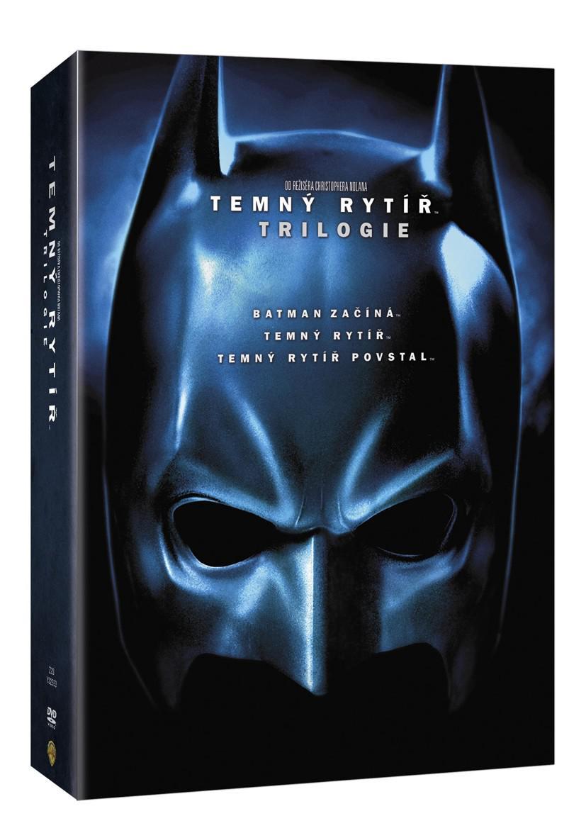 Temný rytíř trilogie 6DVD SPECIÁLNÍ EDICE (Batman začíná, Temný rytíř a Temný rytíř povstal) (DVD)