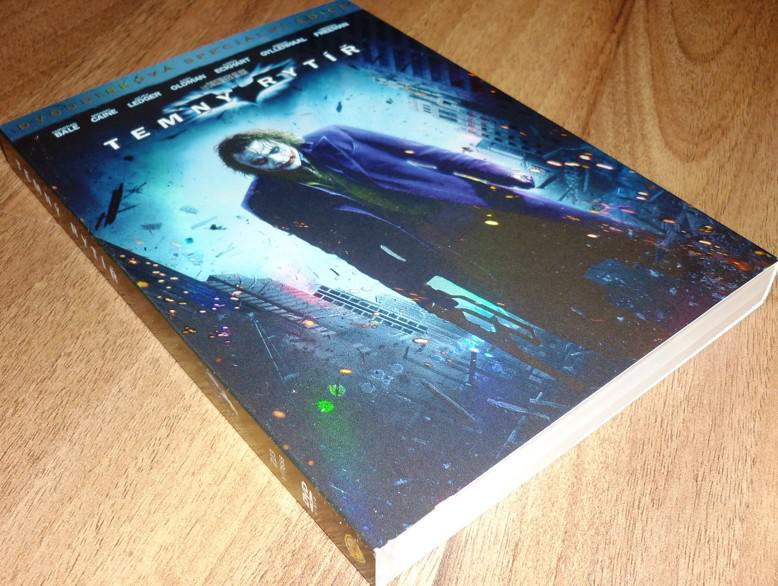 Temný rytíř 2DVD SPECIÁLNÍ EDICE S RUKÁVEM (O-RING) (Batman) (DVD) (Bazar)