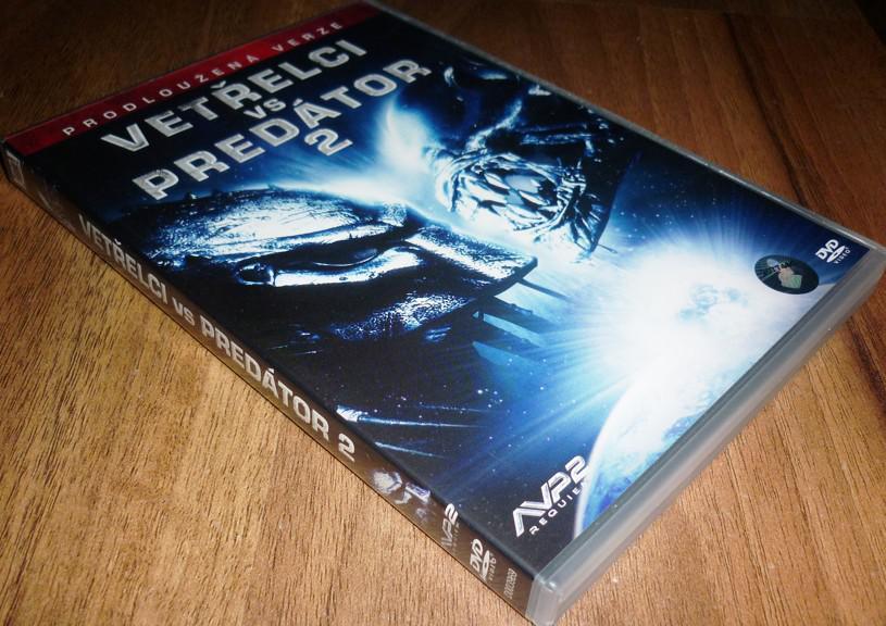 Vetřelci vs. Predátor 2 (Vetřelec vs. Predátor 2) PRODLOUŽENÁ VERZE (DVD) (Bazar)