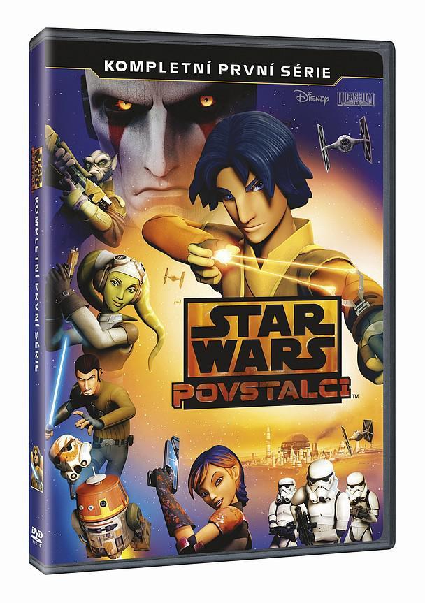 Star Wars: Povstalci 1. série 3DVD (Hvězdné války) (DVD)