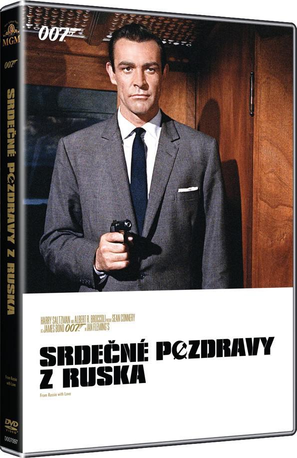 Srdečné pozdravy z Ruska (James Bond 007 - 002) - kolekce 2015 (DVD)