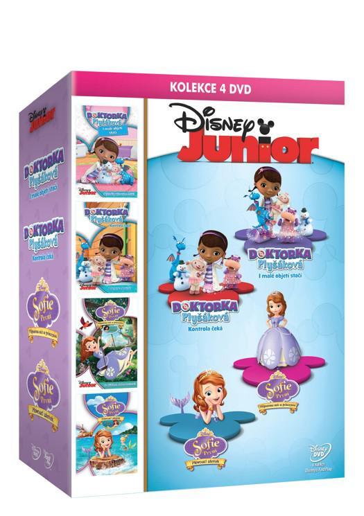 Doktorka Plyšáková + Sofie První kolekce 4DVD (Disney) (DVD)