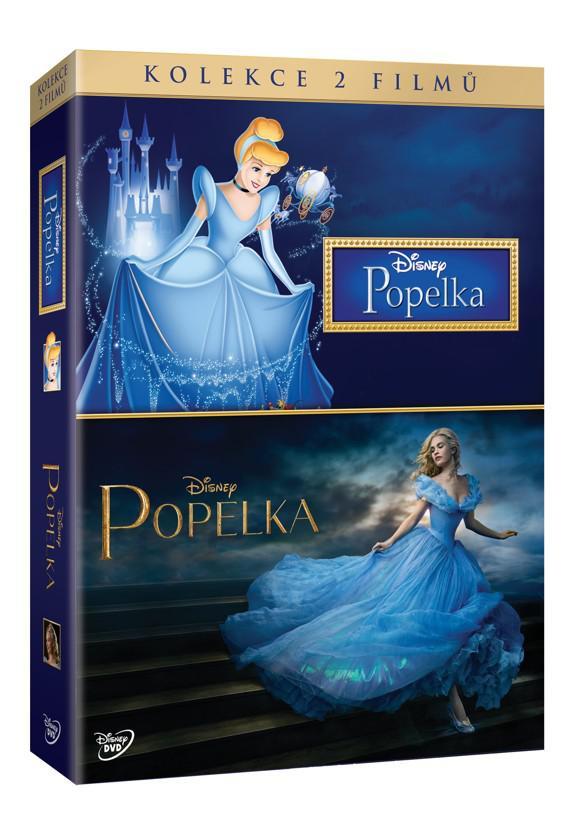 Popelka + Popelka DE kolekce 2DVD (Disney) (DVD)