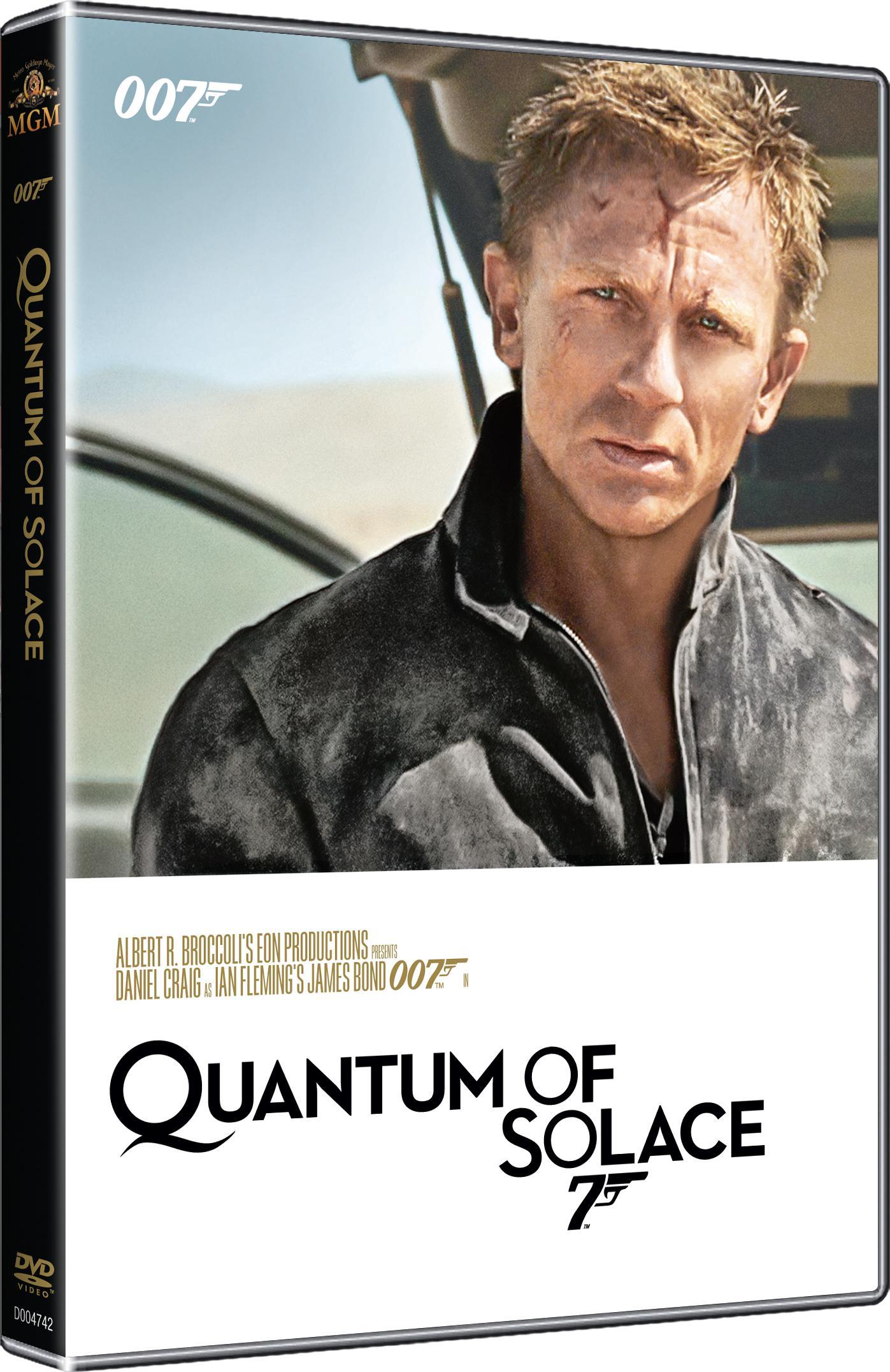 Quantum of Solace (James Bond 007 - 022) - kolekce 2015 (DVD)